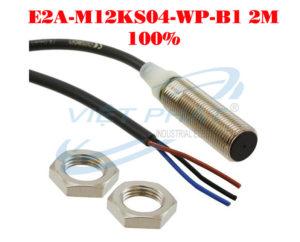 Cảm biến tiệm cận Omron E2A-M12KS04-WP-B1 2M